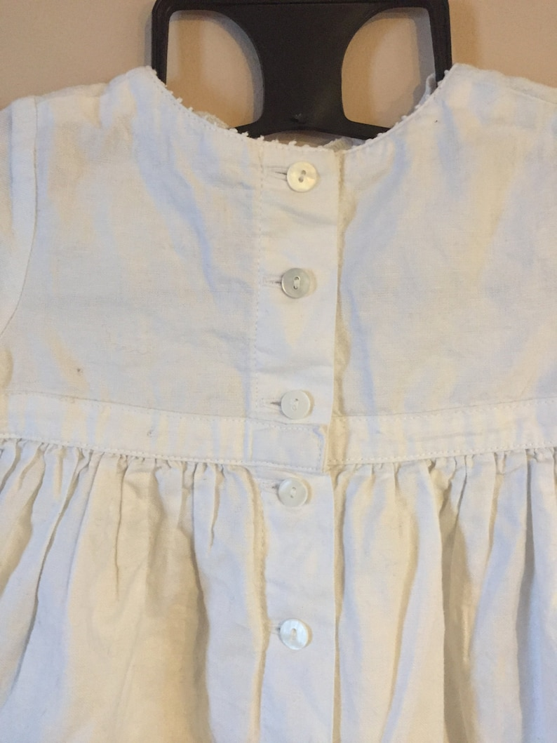 Made in France Beautiful Vintage Christening Dress