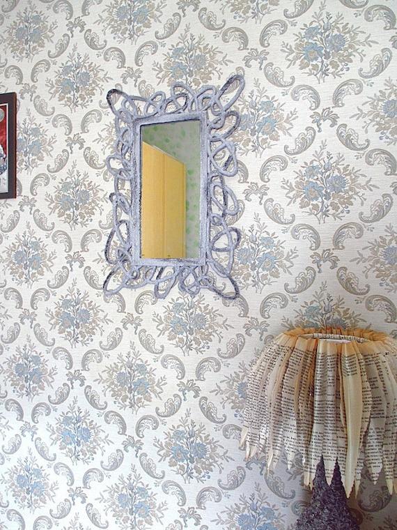 Specchio removibile con cornice di cartapesta etsy - Carta a specchio ...