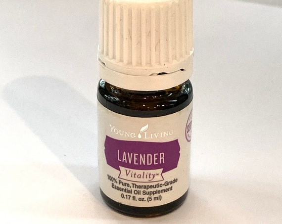 Clearance LAVENDER Vitality Essential Oil 5ml by Young Living