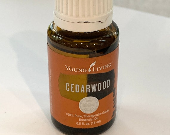 Clearance CEDARWOOD Essential Oil 15ml by Young Living