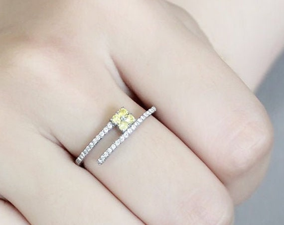 Stainless Steel Ring No Plating Women AAA Grade CZ Topaz