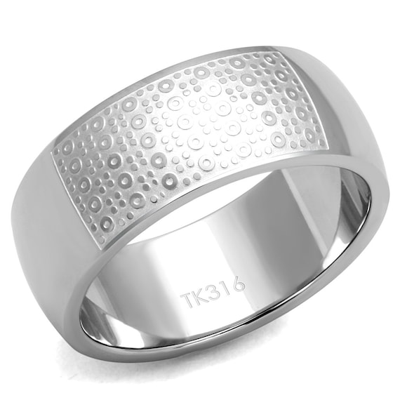 Stainless Steel Ring High polished (no plating) Men