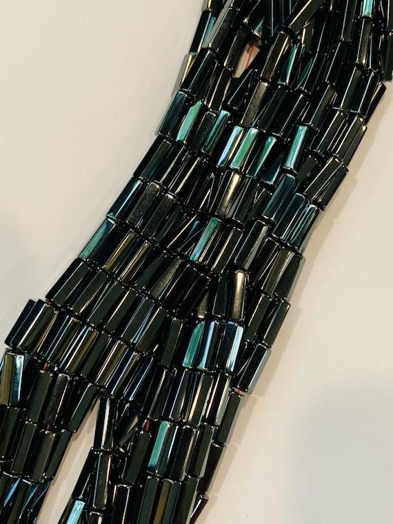 Wholesale Magnetic Hematite Beads 5x12mm - 10 strands Bulk Magnetic Beads