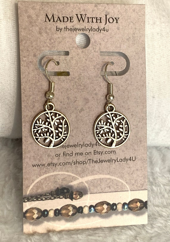Clearance Tree of Life Earrings Hypoallergenic
