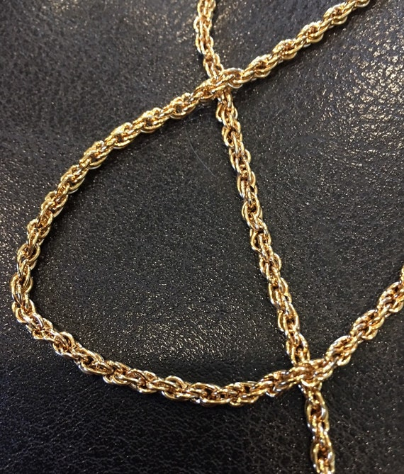 5MM Rope 18k Gold Filled Chain with Lifetime Warranty
