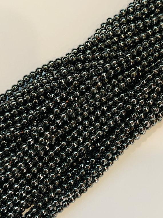 Wholesale Magnetic Hematite Beads 3mm Round - Regular Power Magnetic