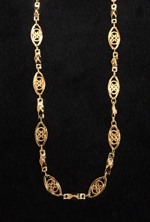 Lifetime Guarantee: 5MM Filigree 18k Gold Layered Chain