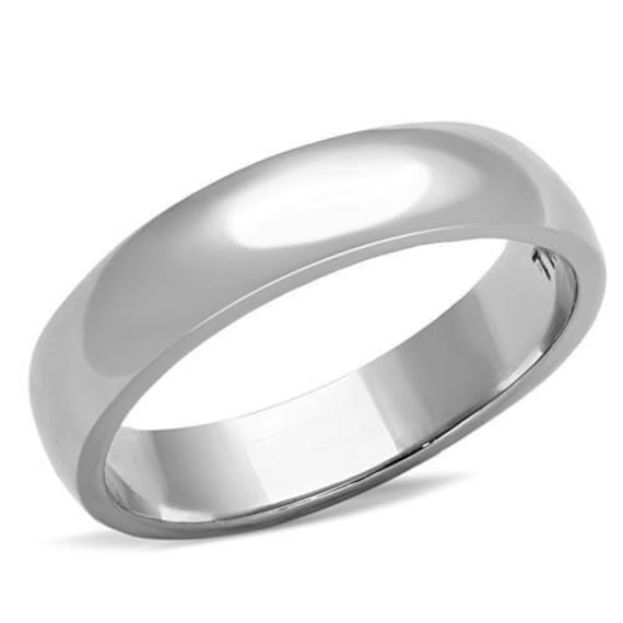 Stainless Steel Ring High polished (no plating) Unisex