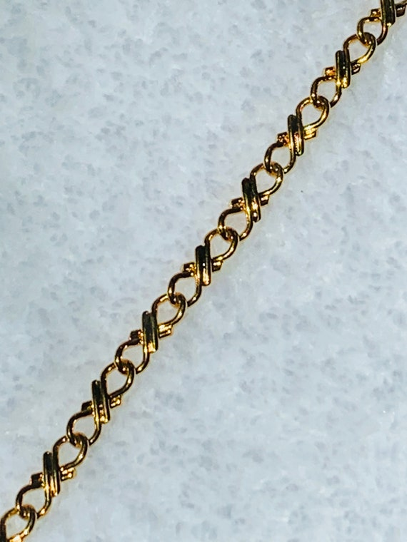 5MM Hugs and Kisses Chain 18k Gold Filled Chain with Lifetime Warranty