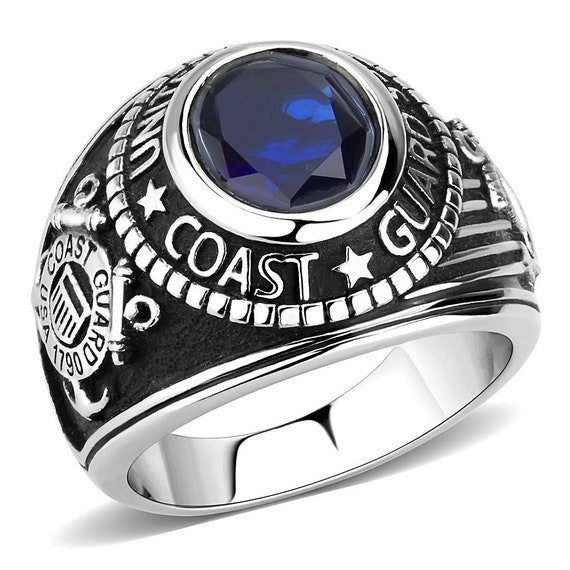 Stainless Steel Ring High polished (no plating) Men Synthetic Montana