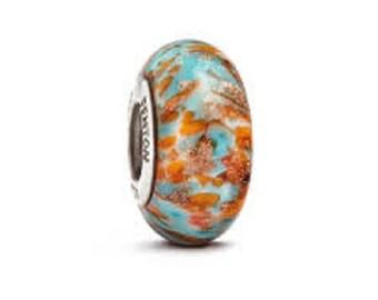 "Fenton Glass bead ""Cherokee"""