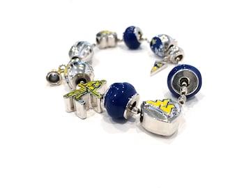 WV Mountaineer Bracelet