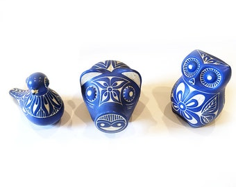 Pablo Zabal 3 Piece Figurines Collection