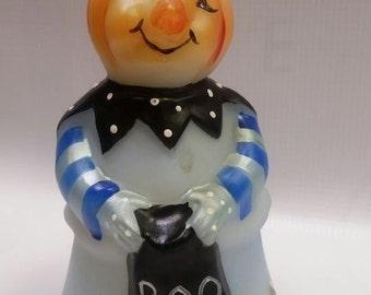 Fenton Glass Pumpkin Head