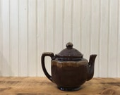 Brown Tea Pot vintage tea...