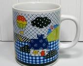 Coffee Mug Vintage Patchw...