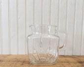 Vintage Glass Pitcher 195...