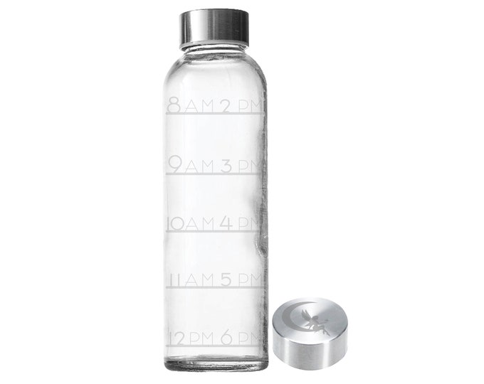 18oz Glass Water Bottles
