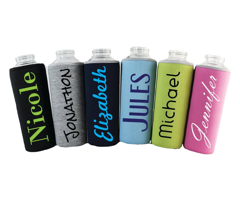 Custom Quote  18oz Bottle Sleeve  500ml image 0