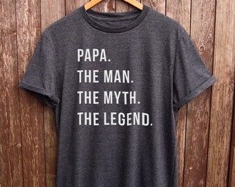8e422dc1 Funny Papa Shirt - dad gifts, gifts for dad, funny dad tshirt, papa tshirt,  gifts for papa, grandpa gifts, funny grandpa tshirt, grandad