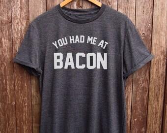 2b66e6a5409 Funny Bacon t-shirt - funny t-shirts