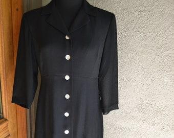 323ddfa81fc Vintage Sheer Lined TALBOTS Color Block Dress Size 4