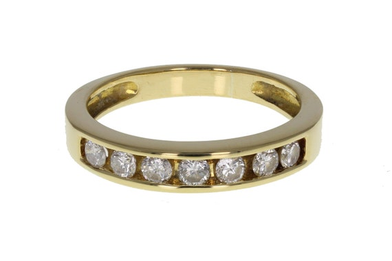 Channel Set Diamond Eternity Ring