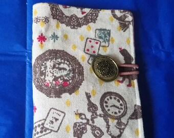 Alice in wonderland tea wallet