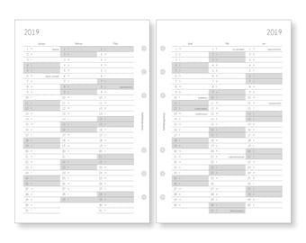 A5 > Kalender