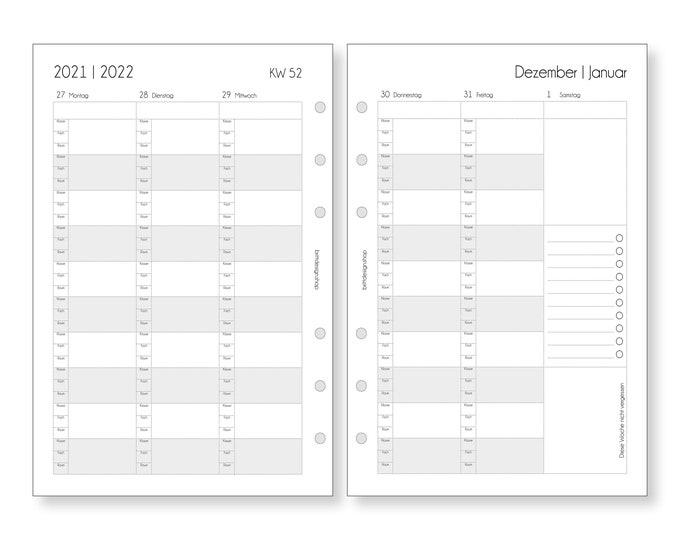 Teacher Calendar 2021 | 2022, A5, minutes, deposits for teachers, calendar deposits for teachers