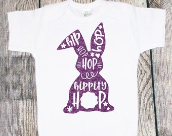 Hippity Hop Easter One Piece/Toddler Tee