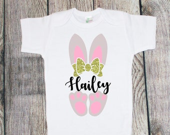 Girl Personalized Easter One Piece/T-Shirt
