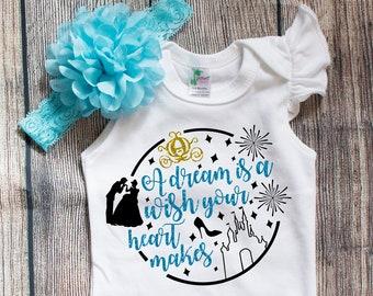 671841058 Cinderella Baby Bodysuit/Toddler Tee