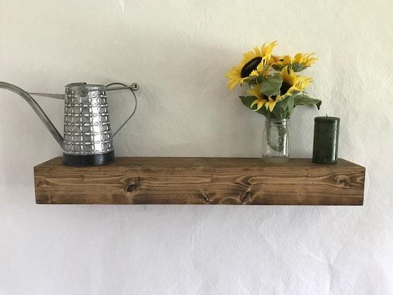 Wadebridge Wood Floating Shelf / reclaimed / rustic / handmade / floating shelf