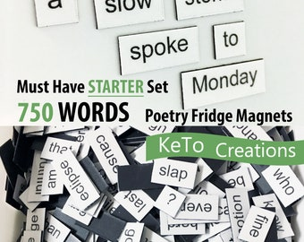 New Fashion Cowboy Poetry Word Magnets Educational
