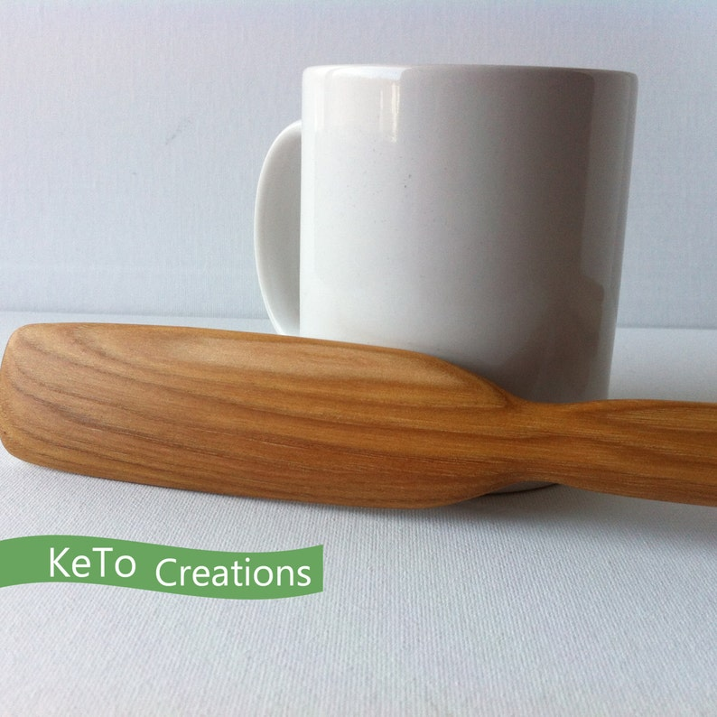 Made in the USA Long Handle Wooden Stir Stick Wooden Utensils Long Handle Birch Wood Utensils Hand Crafted Wooden Spoons Under 15