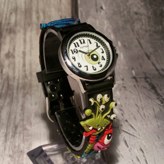 b4bbb6e60d10 Monsters Character Boys Watch