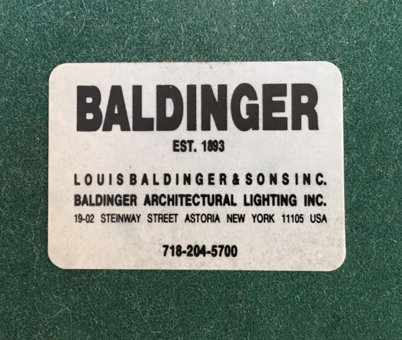Previous image. Next image & Baldinger Architectural Drawing Light | Etsy