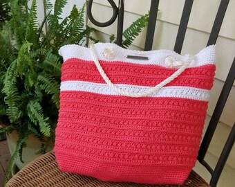 Coral Malia Shoulder Bag