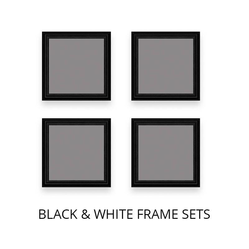 Quadratische Frame Mockup Multi-Frame-Mockups schwarzer | Etsy