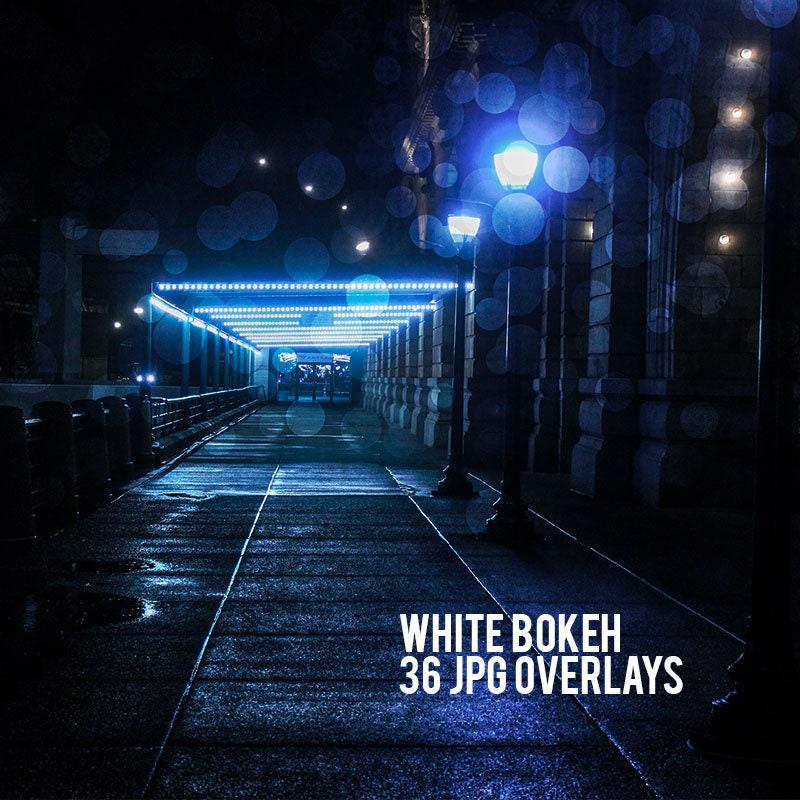 Bokeh, Photoshop Overlay, Bokeh Overlay, Photoshop, Overlay, Photo Overlay,  Photography Digital Download, Overlays Photo, 36 Bokeh Overlays