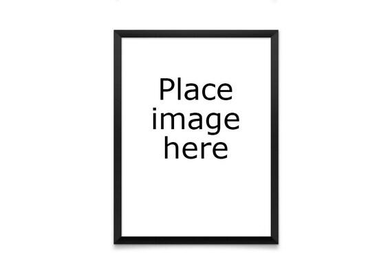 Frame Mock Up Frame Mockups Frame PSD Artwork Display | Etsy