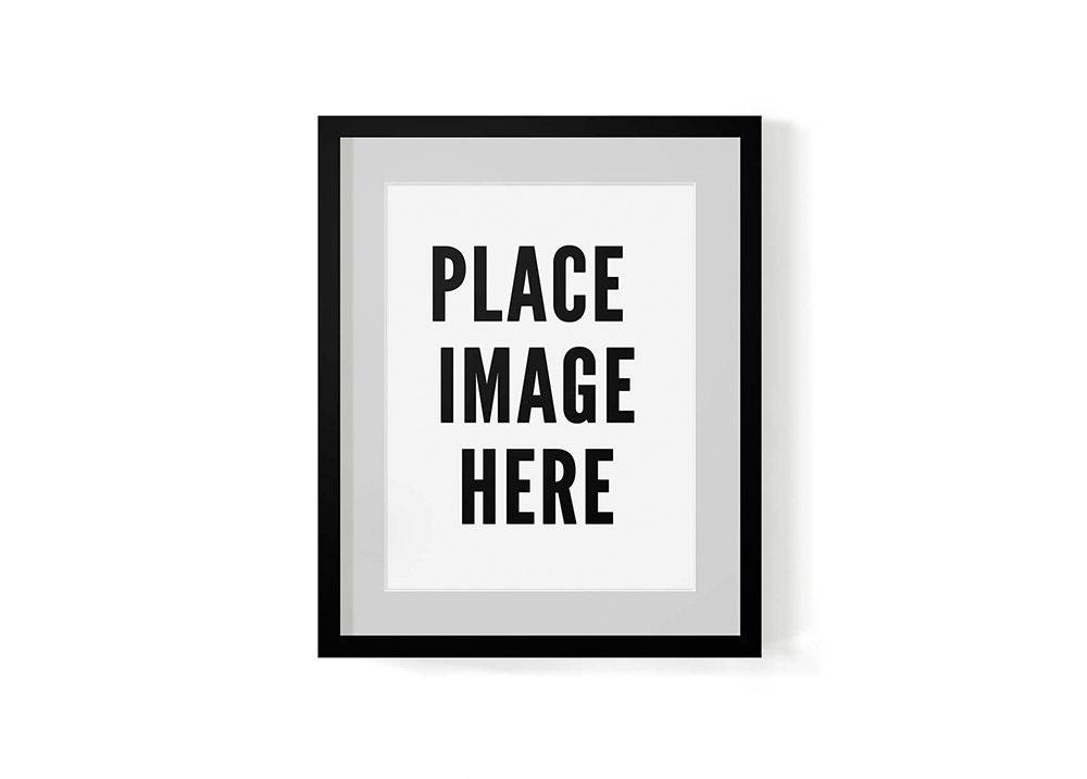 Mock Up Frame Rahmen Overlay digitale Bilderrahmen | Etsy