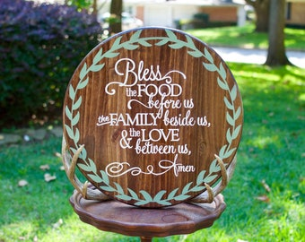Hand painted Lazy Susan