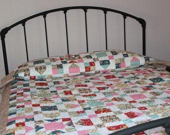 Strawberry Fields Handmade Quilt