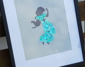 Aladdin- Jasmin Wall Art