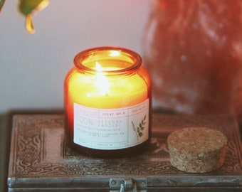 Peru Balsam Beeswax Candle