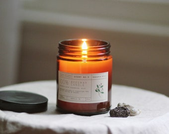 Mandarin Spice Beeswax Candle (in Limited Run Jar)