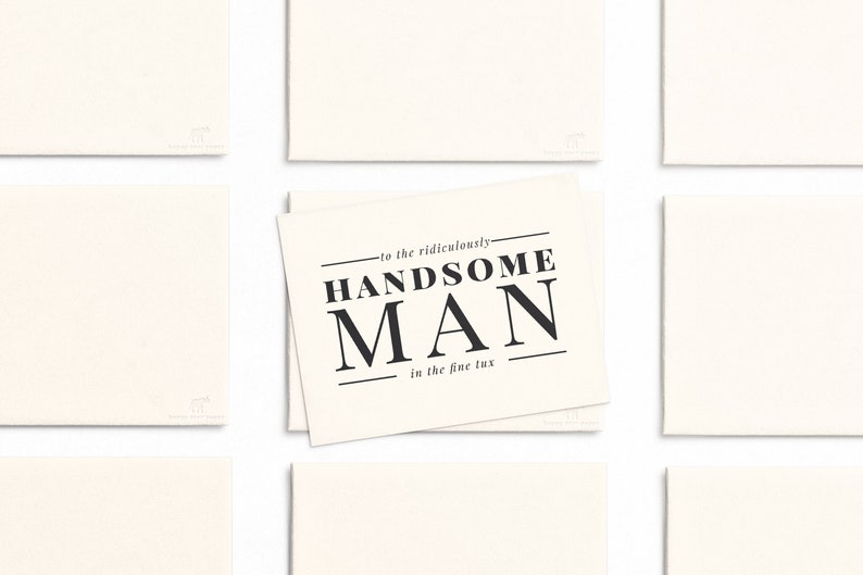 To My Groom Wedding Stationery / Future Husband Wedding Day image 0