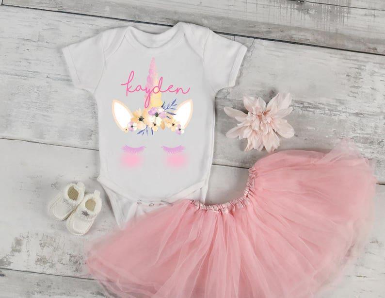 e753e71ad Unicorn Onesie baby clothing Baby Shower Gift for newborn | Etsy